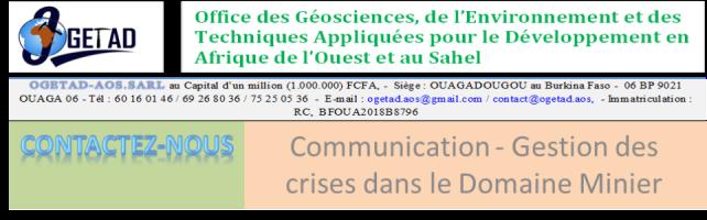 communication et gestion des crises